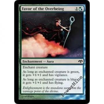4 Favor of the Overbeing ~ Hybrid Eventide Mtg Magic Common 4x x4