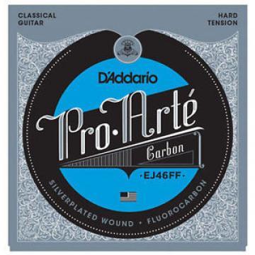 3 sets D'Addario EJ46FF Pro Arte Carbon Hard Tension Classical Guitar Strings