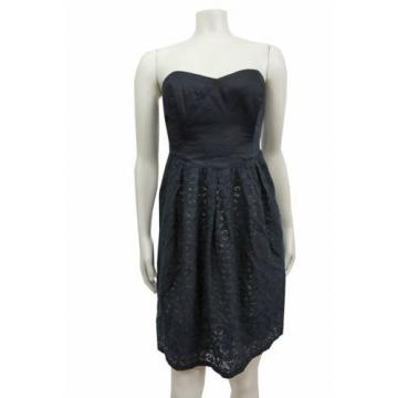 Eventide Dress Moulinette Soeurs Anthropologie Size 6 Cotton lace nude underlay