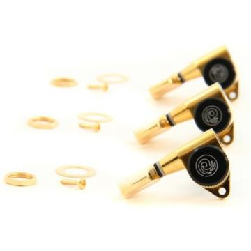 Planet Waves Auto-Trim Locking Tuning Machines - 3+3 - ... (2-pack) Value Bundle