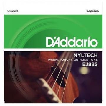 """D'ADDARIO EJ88S """"NYLTECH"""" SOPRANO UKULELE STRINGS"""
