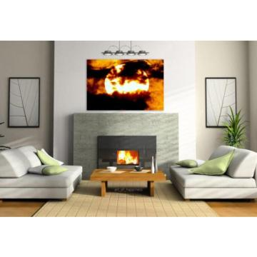 Stunning Poster Wall Art Decor Sol Twilight Eventide Dusk Sunset 36x24 Inches