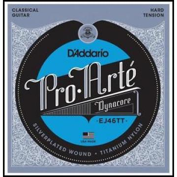 D'Addario EJ46TT ProArte DynaCore Hard Tension Classical Guitar Strings