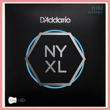 D'Addario NYXL1152 Nickel Wound Electric Guitar Strings med top/HB 11 - 52 NYXL