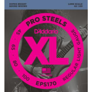 D'Addario EPS170 Regular Light Pro Steels Electric Bass Strings