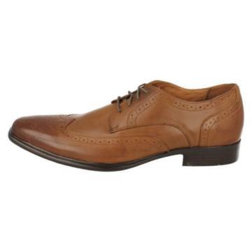 Hombre Mark Nason Eventide 68902 Coñac Zapatos De Piel Con Cordones