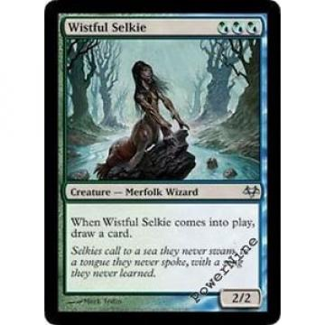 4 Wistful Selkie ~ Hybrid Eventide Mtg Magic Uncommon 4x x4