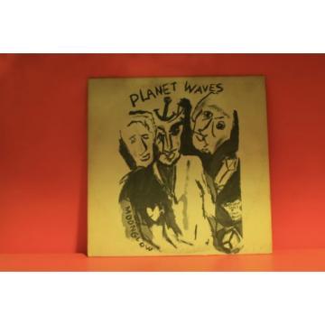 BOB DYLAN - PLANET WAVES - ASYLUM 1974  7E1003 W/INSERT KENDUN *EX* LP VINYL -W