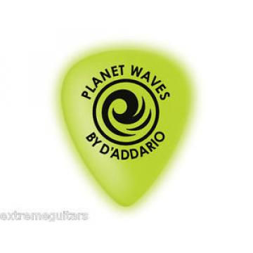 Planet Waves Celluglo GLOW IN THE DARK Guitar Picks 1.00mm NEW Ships Worldwide