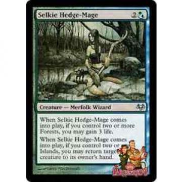 4 Selkie Hedge-Mage ~Eventide~ NM ✰Sarge & Reds✰ MTG