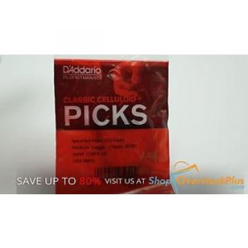 D'Addario Planet Waves Classic Celluloid Picks (10 Packs)