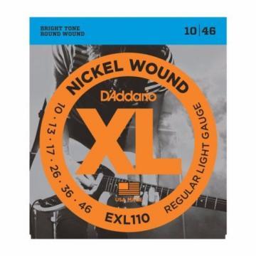 D'Addario Set ELECTRIC GUITAR XL Nickel Wound, Regular Light