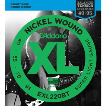 D'Addario EXL220BT Balanced Tension Nickel Wound E