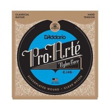 10 Pack! D'Addario EJ46 Pro Arte Nylon Core Classical Guitar Strings Free Ship
