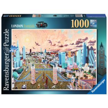 19653 Ravensburger London - Eventide Jigsaw 1000pcs Premium Puzzle Age 12yr+