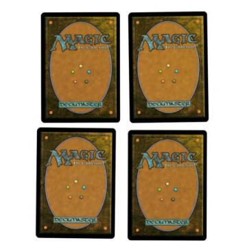 4x Noggle Hedge-Mage EX Eventide Mtg Magic Commander EDH 4x x4