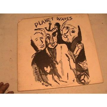 BOB  DYLAN  PLANET WAVES  THE BAND MOONGLOW  ASYLUM  7E 1003 ORIG. 1974 W/INSERT