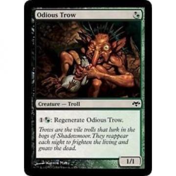4x MTG: Odious Trow - Multi Common - Eventide - EVE - Magic Card