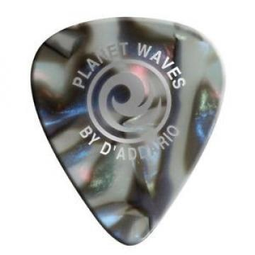 Planet Waves 1cab2-10 Abalone Celluloid Guitar Picks, Light, 10 Pack