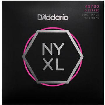 D'Addario NYXL45130 Bass Strings Long Scale, 5 String Regular Light