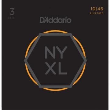 D'Addario NYXL1046 Nickel Wound Electric Strings 3