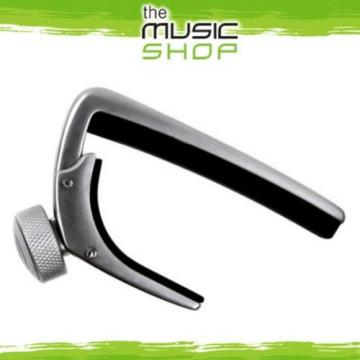 New D'Addario Planet Waves NS Capo Pro Guitar Capo - Silver - CP-02S