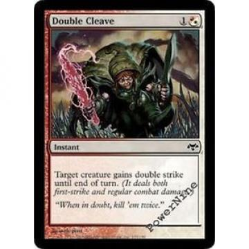 1 FOIL Double Cleave - Hybrid Eventide Mtg Magic Common 1x x1