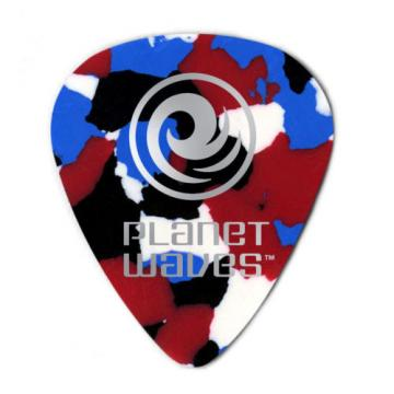 Planet Waves Guitar Picks  25 Pack Confetti / Multi  Extra Heavy - D'Addario