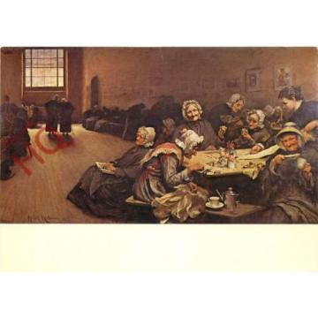 Postcard: Sir H. Van Herkomer, Eventide, A Scene In The Westminster Union