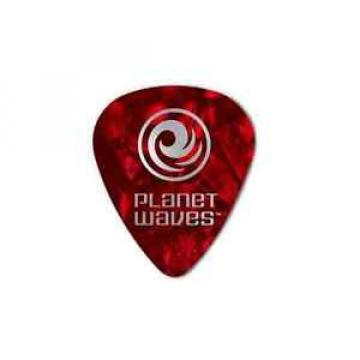 Planet Waves 1CRP2-10 Pearl Celluloid Picks, Light Red Pearl, 10er Pack | NEU