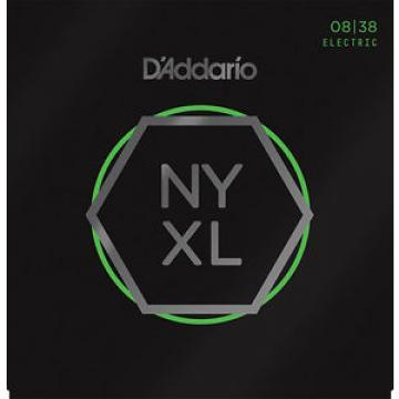 New D'ADDARIO NYXL-0838 Electric Guitar NYXL EX Super Light