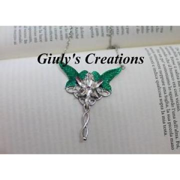 Necklace inspired THE LORD OF RINGS Hobbit Stella Eventide e leaves Lorien