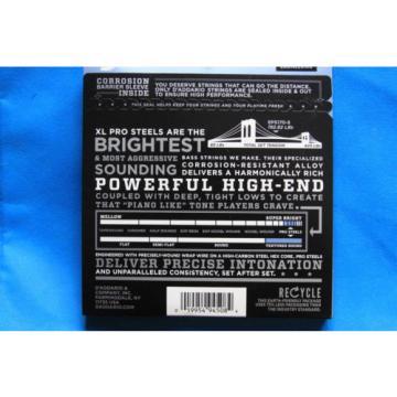 D'Addario ProSteels 5 String Bass Set EPS170-5, Regular Light Gauge, CLOSEOUT!