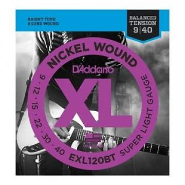 10 Pack!  D'Addario EXL120BT Super Light Electric Guitar Strings Ships FREE U.S