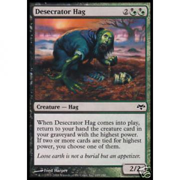 4x Desecrator Hag - - Eventide - - mint