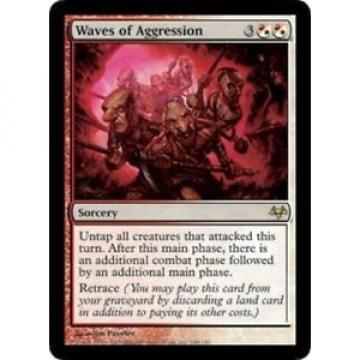 (1x) Waves of Aggression (x1)✰Slight Play✰Eventide✰MTG 1 x