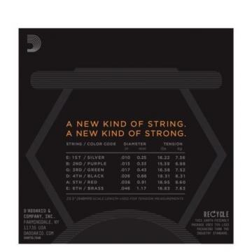 D'Addario NYXL 1046 Electric Guitar Strings Regular Light Gauge 10-46 NYXL1046
