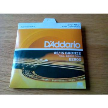 Daddario guitar strings