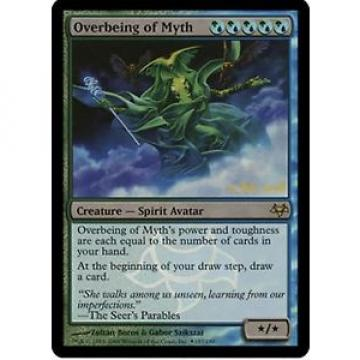 *MRM* ENG FOIL Overbeing of Myth pre MTG Eventide