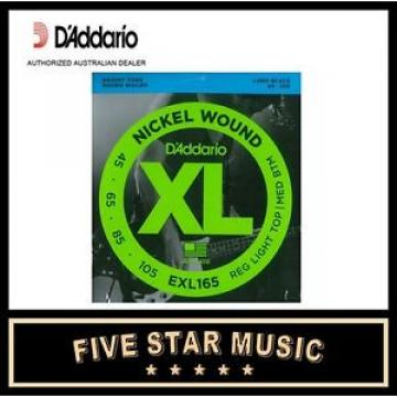 DADDARIO EXL165 ELECTRIC BASS STRINGS 4-STRING SET 45-105 D'ADDARIO LONG SCALE