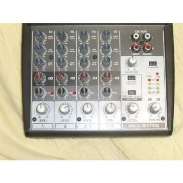 Behringer Xenyx 802 l 8-Input 2-Bus Mixer   Used, In Good Working Order.