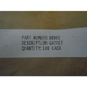 LOT OF 100 EA PRATT & WHITNEY GASKET FOR VARIOUS RADIAL ENGINES P/N: 88962