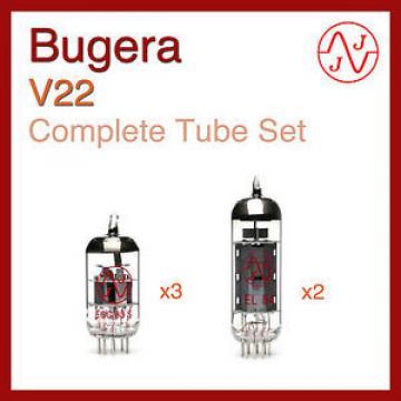 Bugera V22 Complete Tube Set with JJ Electronics