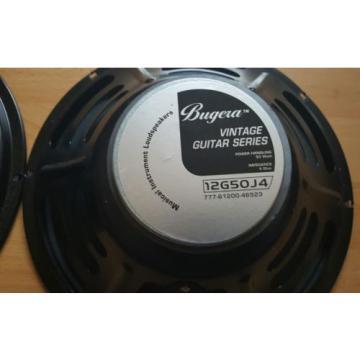 "1x BUGERA 12G50J4  Vintage Guitar Series 12"" Speaker ,50W,4Ohm , TOP NEUWERTIG !"