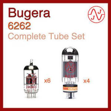 Bugera 6262 Complete Tube Set with JJ Electronics