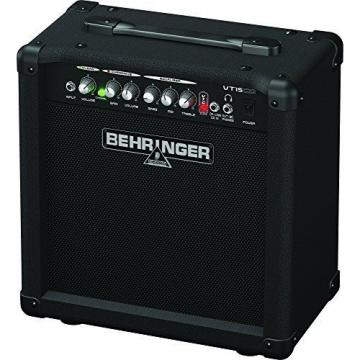 Behringer Virtube Vt15cd 15-Watt Guitar Amplifier With 2 Independent Channels,