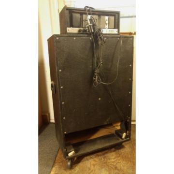 Sears Silvertone Piggyback Guitar- Bass Amp (Mdl. 1466/150Bass) Head/Cab Jensen