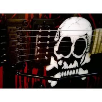 Charvel Warren Demartini Blood N Skull Guitar RARE  USA San Dimas Signed