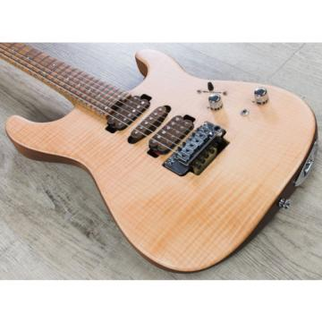 Charvel Guthrie Govan HSH Flame Maple Signature Guitar, Roasted Flame Maple