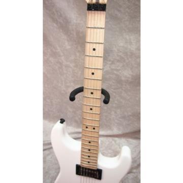 Charvel SD-1 San Dimas HH Floyd Rose electric guitar in snow white